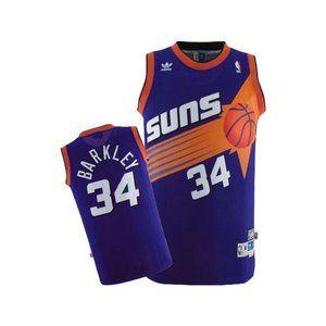 Phoenix Suns Charles Barkley Purple Jersey